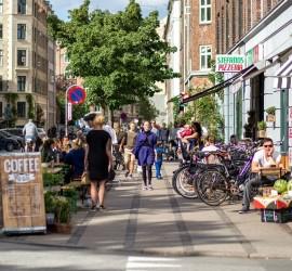 Besøg Nørrebros populære shoppingcenter